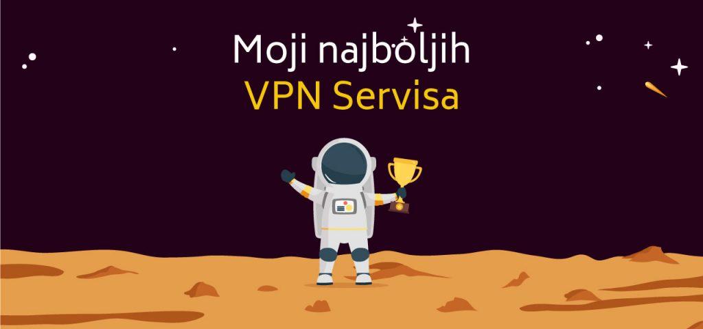 Moji najboljih VPN Servisa