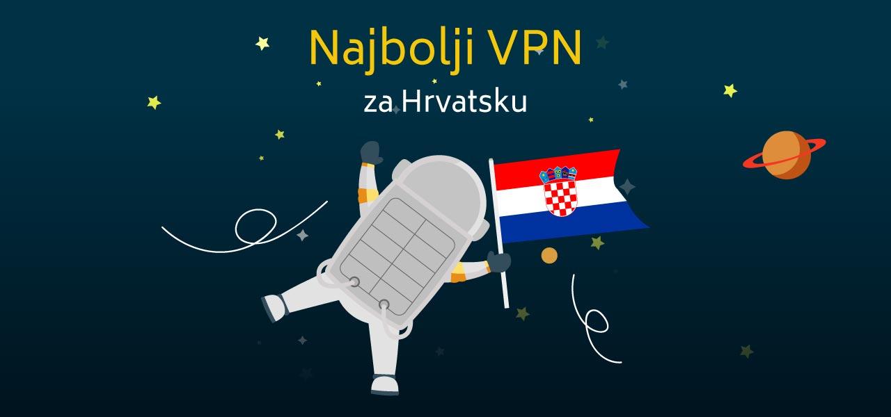 Najbolji VPN za Hrvatsku