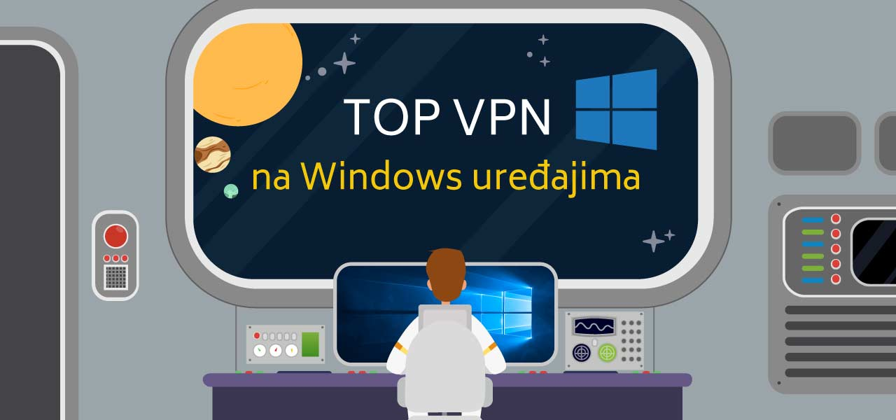 Top VPN na Windows uređajima