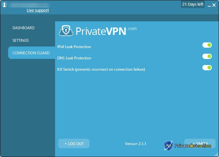 VPN Connection Guard