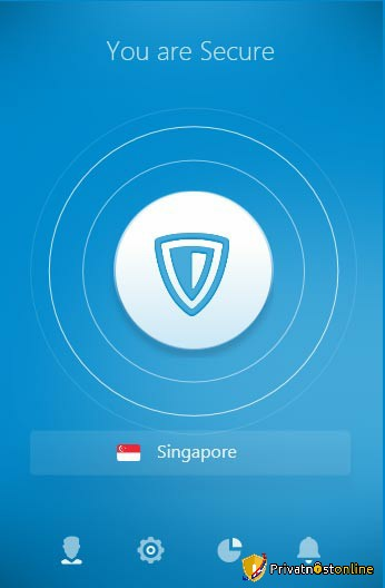 Interfejs ZenMate VPN