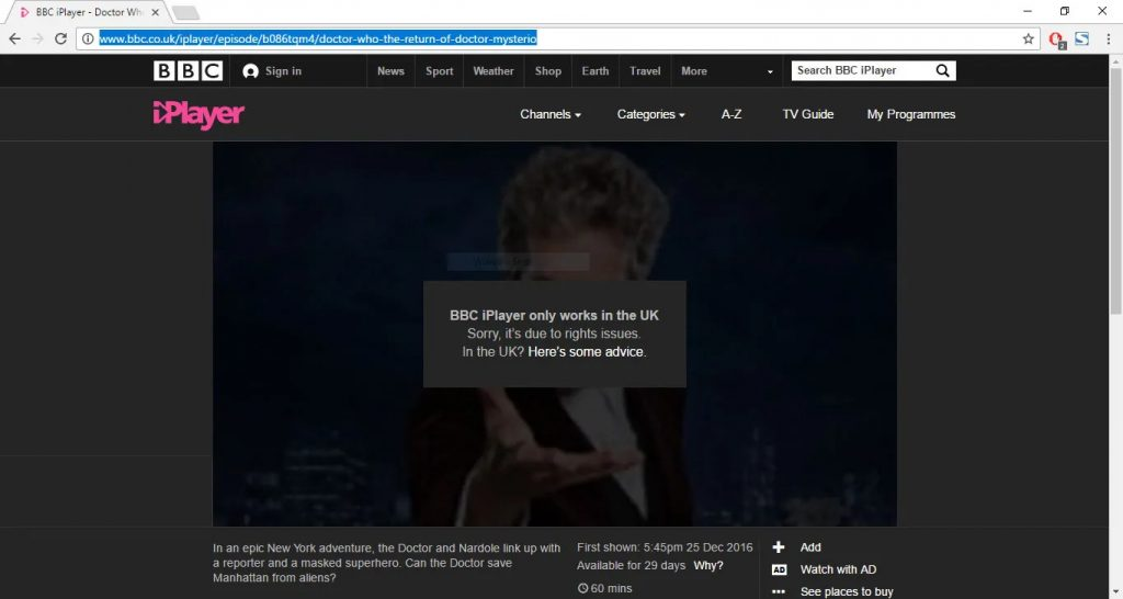 vpn bbc iplayer